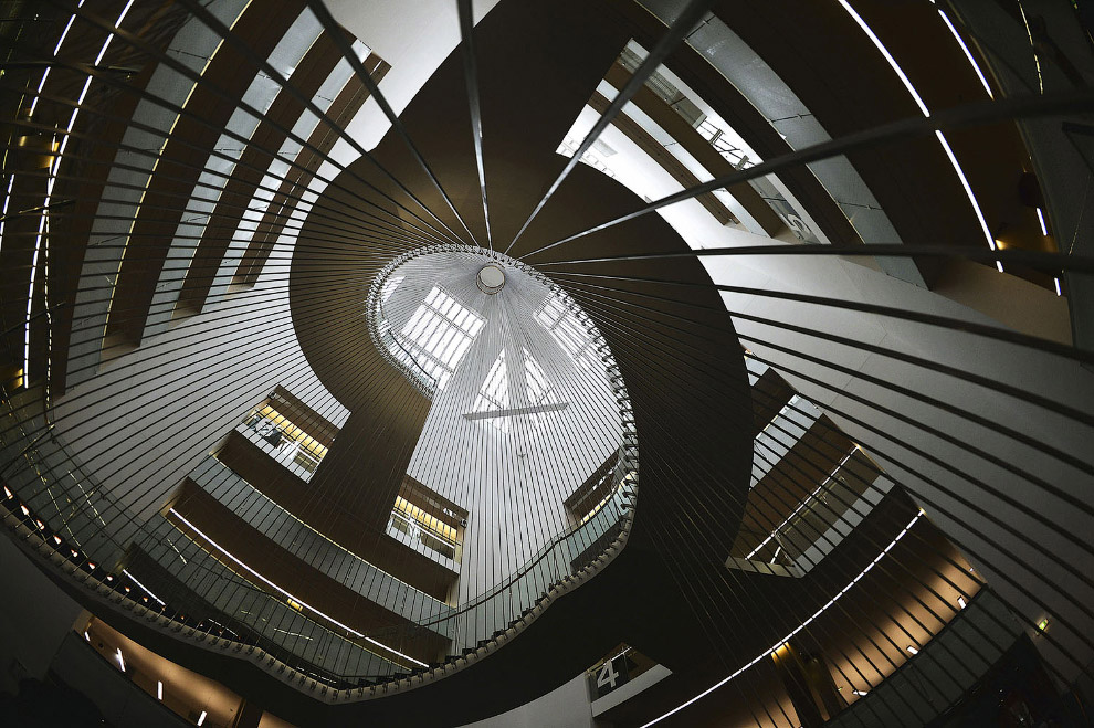 Университетская библиотека в Страсбурге, Франция