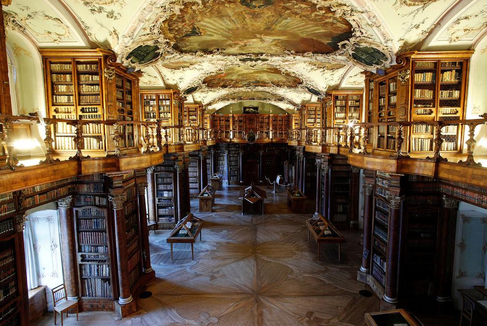 Библиотека монастыря святого Галла