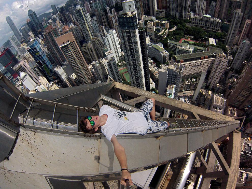 Еще один экстремальный вид на Гонконг