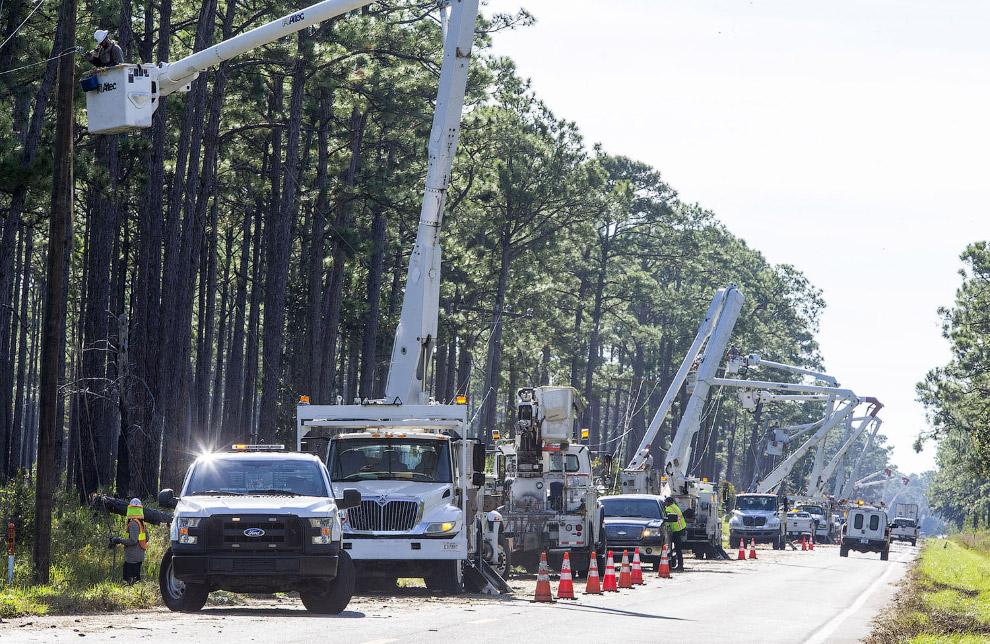 Восстановление подачи электричества