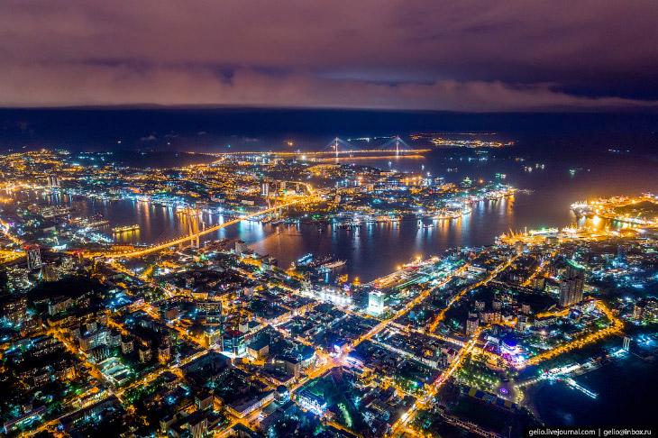 Владивосток з висоти: російська Сан-Франциско