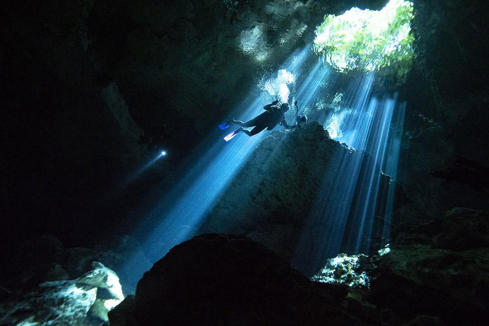 Подводный мир пещер
