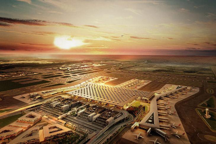 Самый Стамбула—самый большой аэропорт в мире