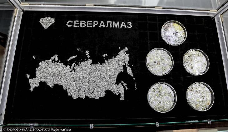 Как добывают алмазы под Архангельском