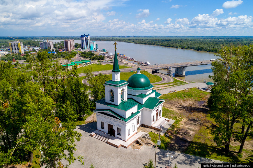 Недавно реконструированная церковь Иоанна Предтечи