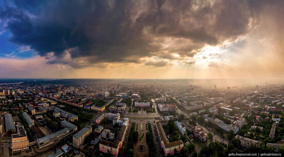 Современный центр Барнаула