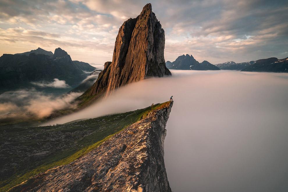 Серед хмар, Норвегія