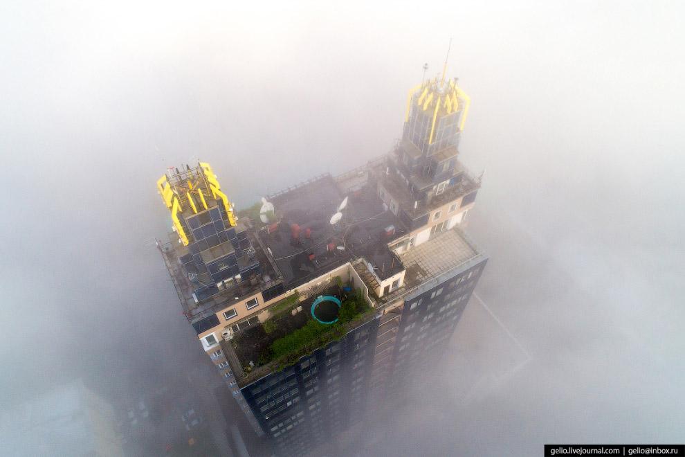 «Бэтмен» в тумане.