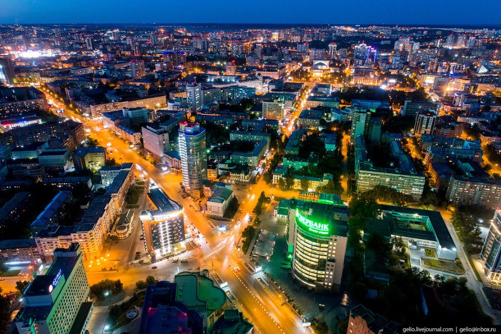 Пересечение улицы Ленина и проспекта Димитрова
