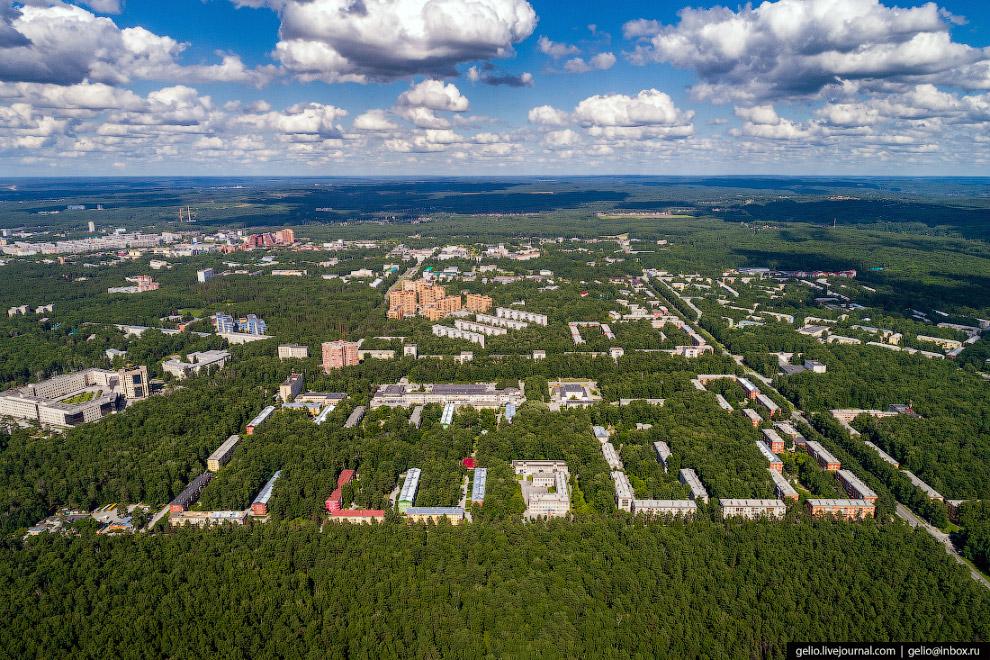 Верхняя зона — основной район Академгородка