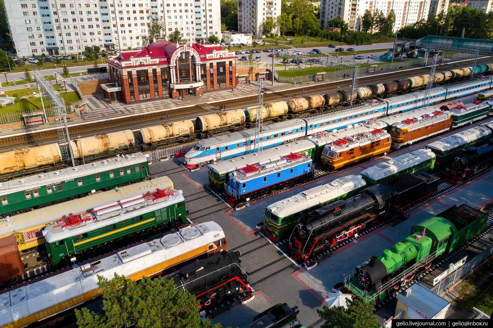 Музей железнодорожной техники «Сеятель»