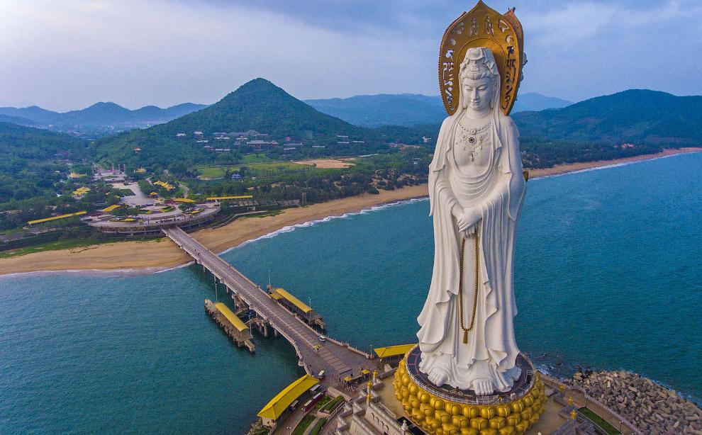 Статуя Гуаньинь (Наньшань)