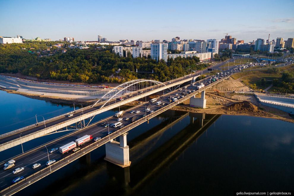 Автомобильные мосты через реку Белую (другое её название Агидель)