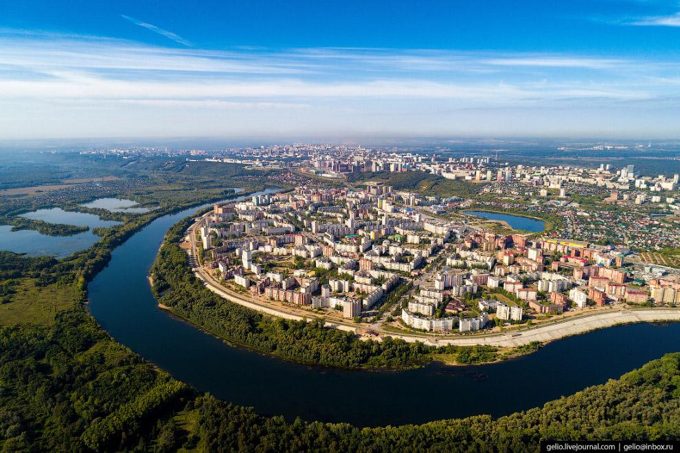 Сипайлово — спальный микрорайон в Октябрьском округе