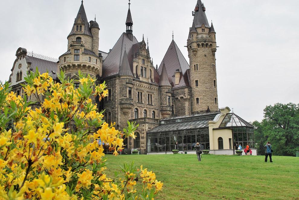 Мошненский замок, Польша