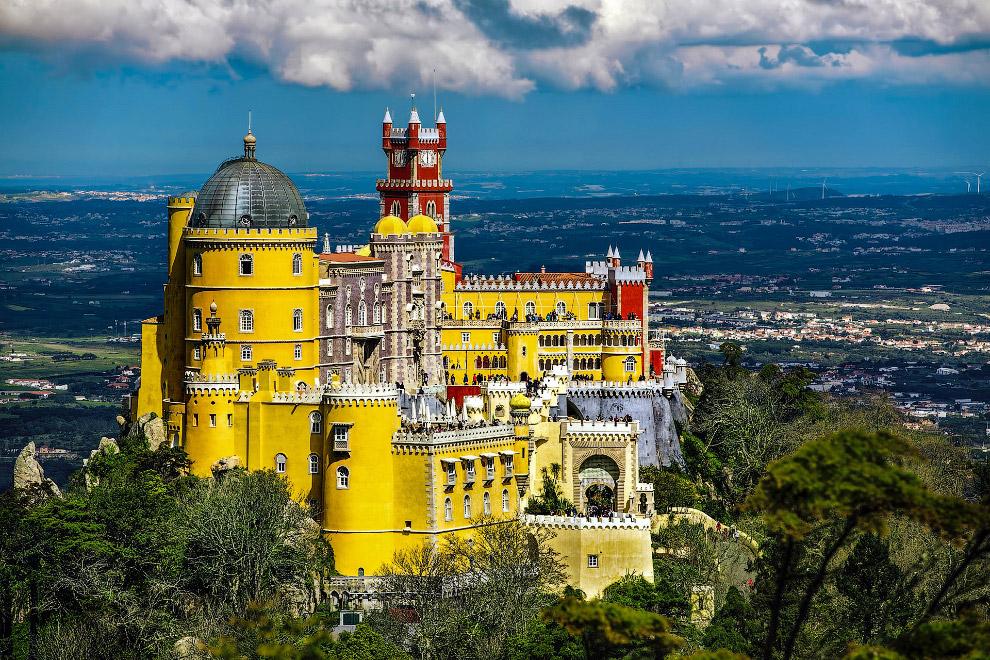 Палац Пена, Португалія
