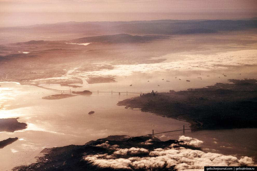 Сан-Франциско, мост «Золотые ворота».