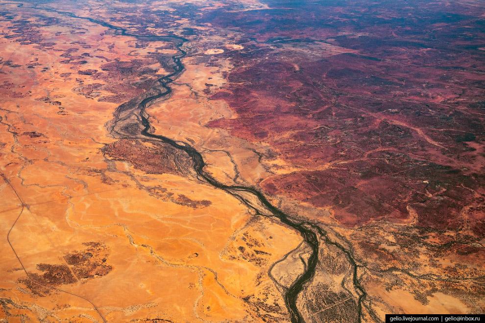 Красные земли Австралии.