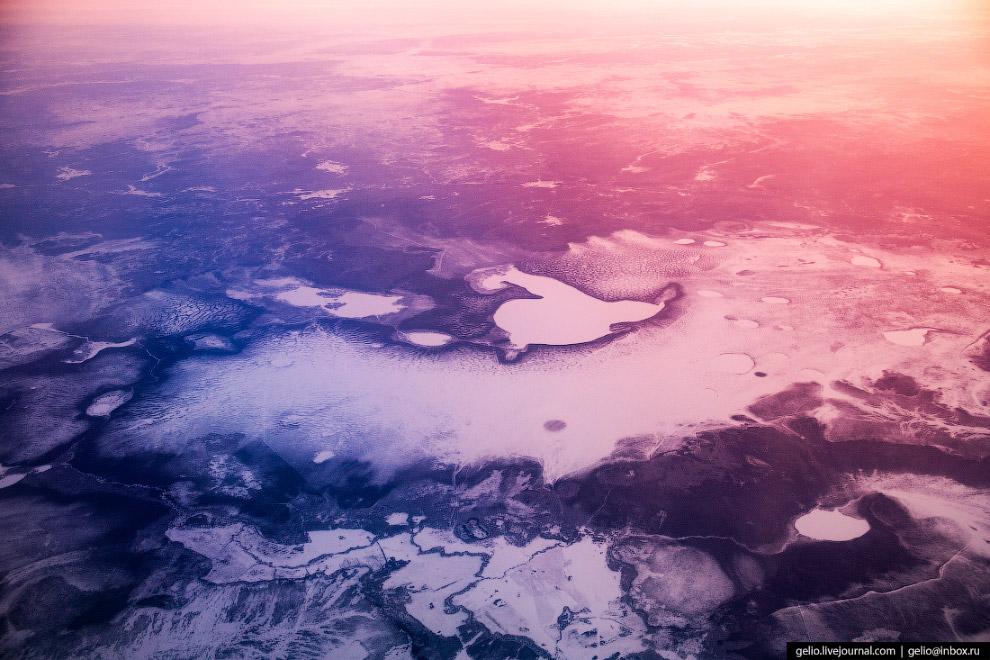 Озера центральной России.