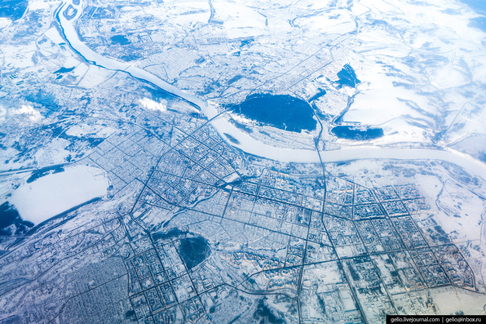 Зимний Кемерово.