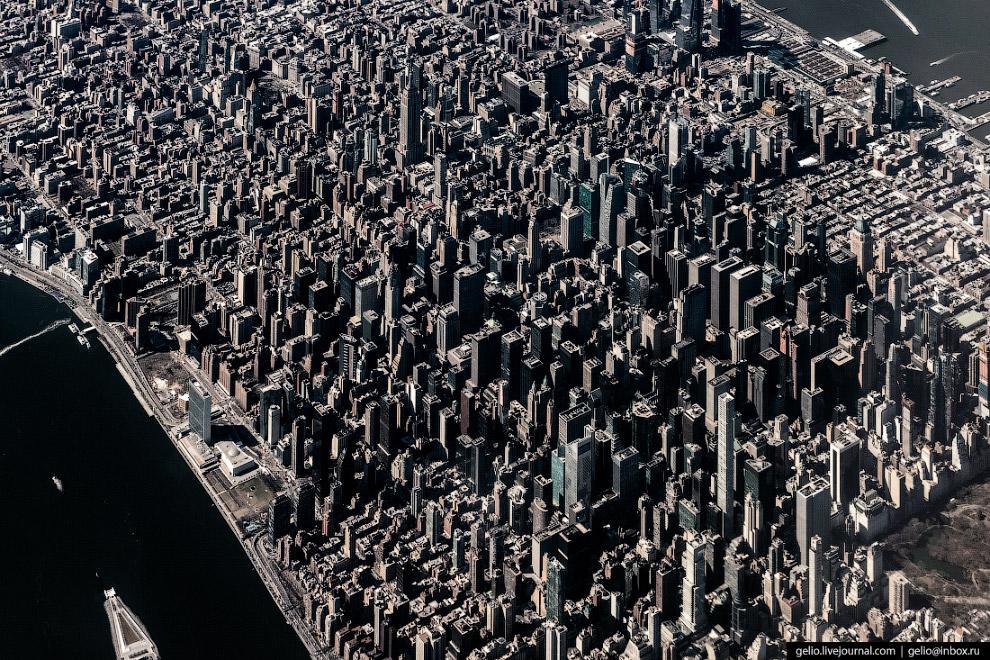 Застройка Мидтауна, делового и торгового района Манхэттена.