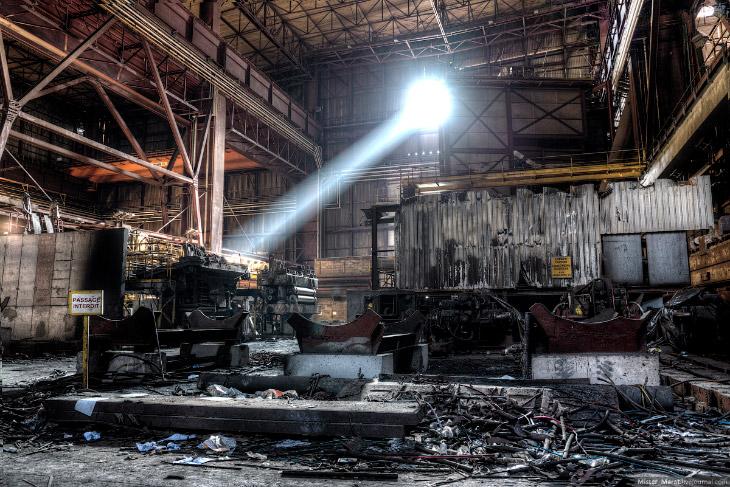 Заброшенные заводы Бельгии