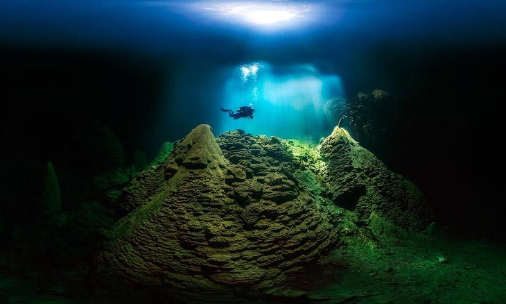 Пещерный дайвер, Бразилия