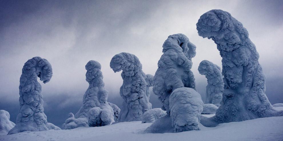 Ледяные гиганты в Финляндии