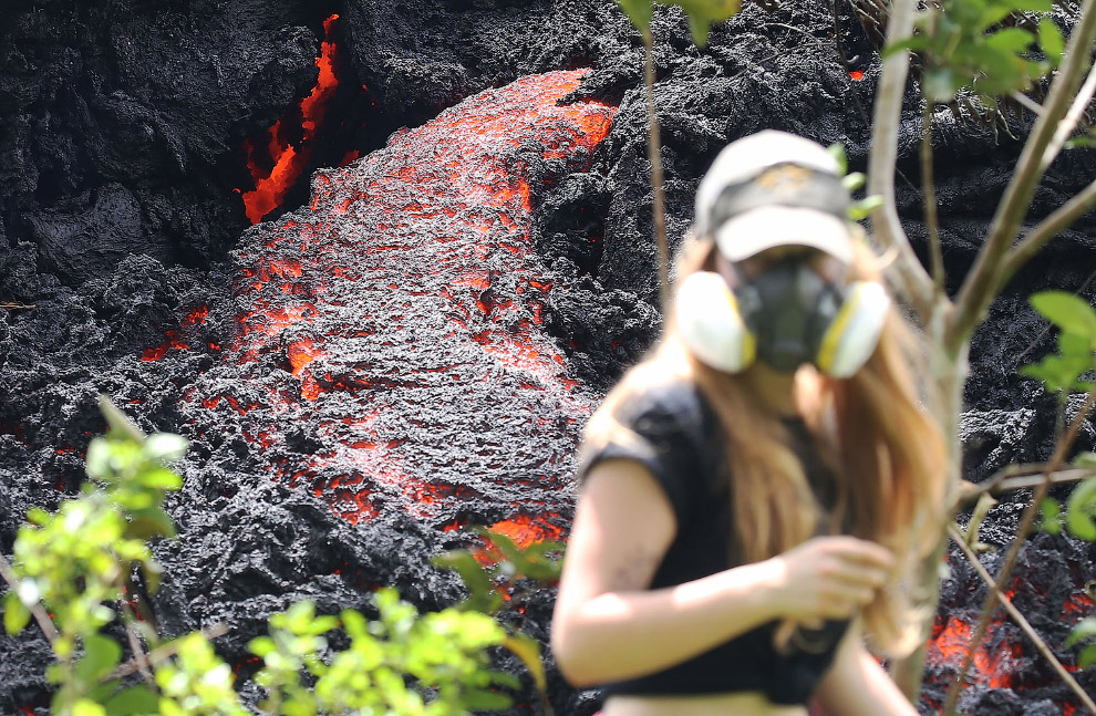 Извержения вулкана Килауэа на Гавайях