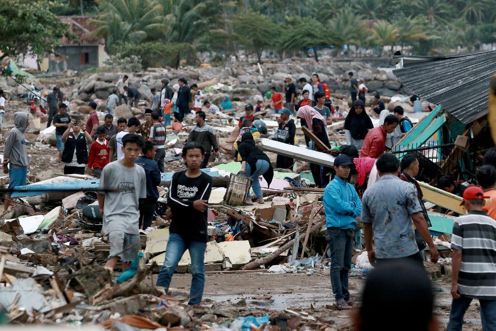 Цунами в Индонезии 2018