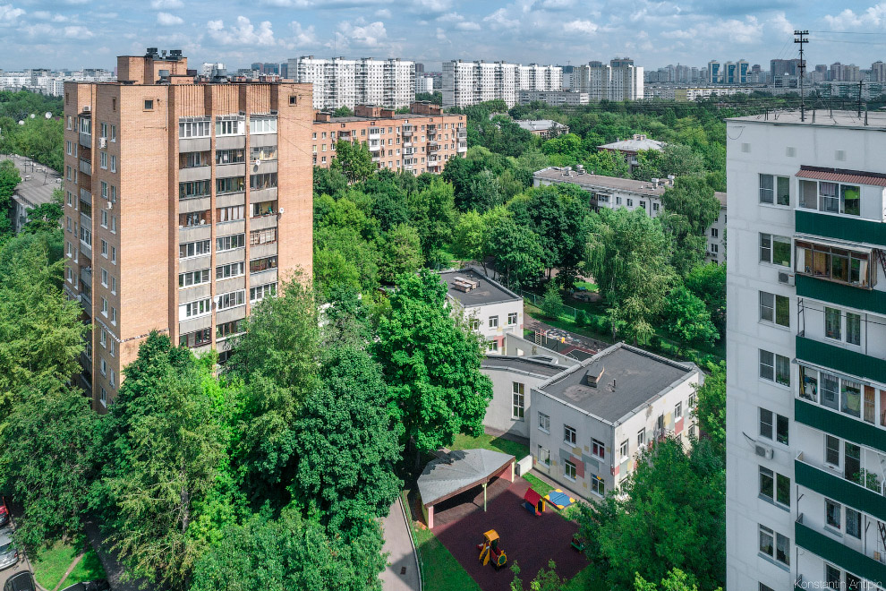 Детский сад архитектора Александра Ларина в районе Новогиреево.