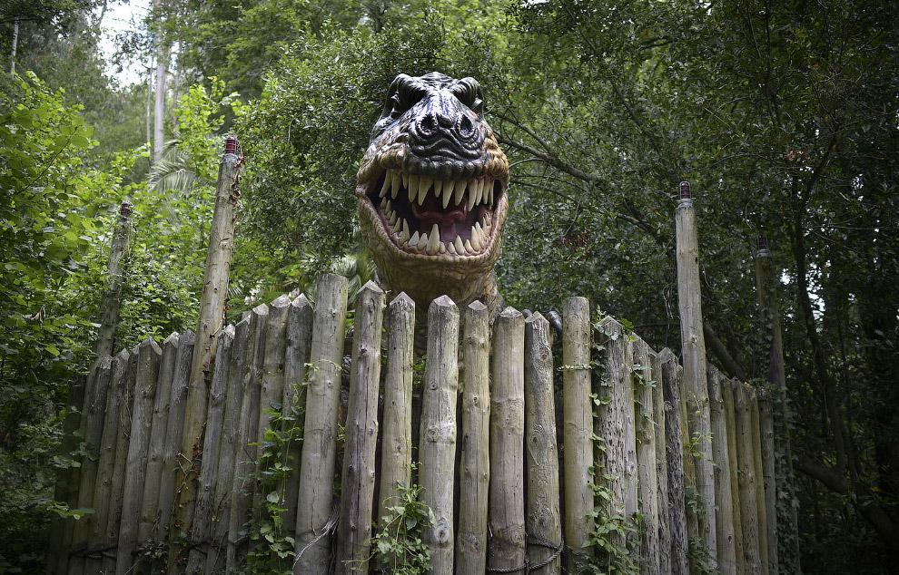 Тираннозавр в долине Карранца, Испания