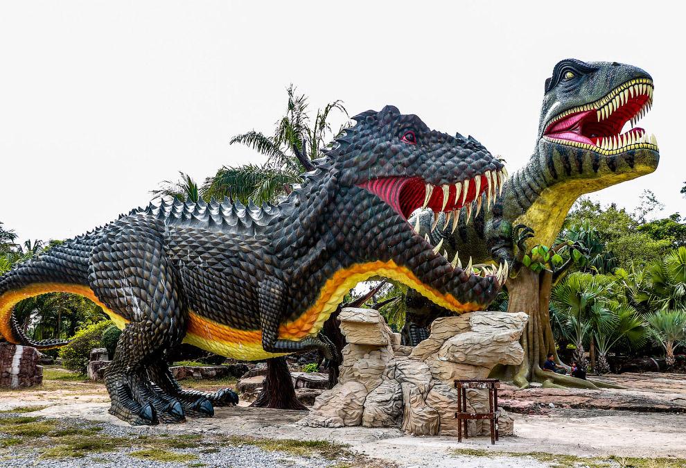 Парк динозавров в Таиланде