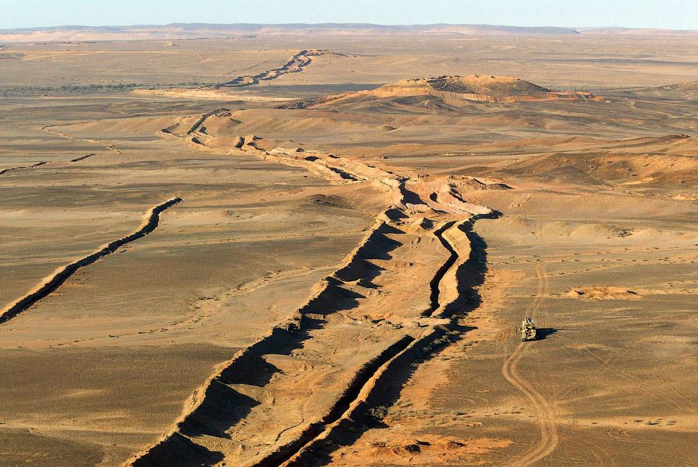 Марокканская стена