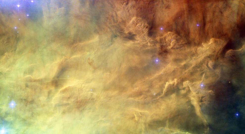 Туманность Лагуна — гигантское межзвёздное облако