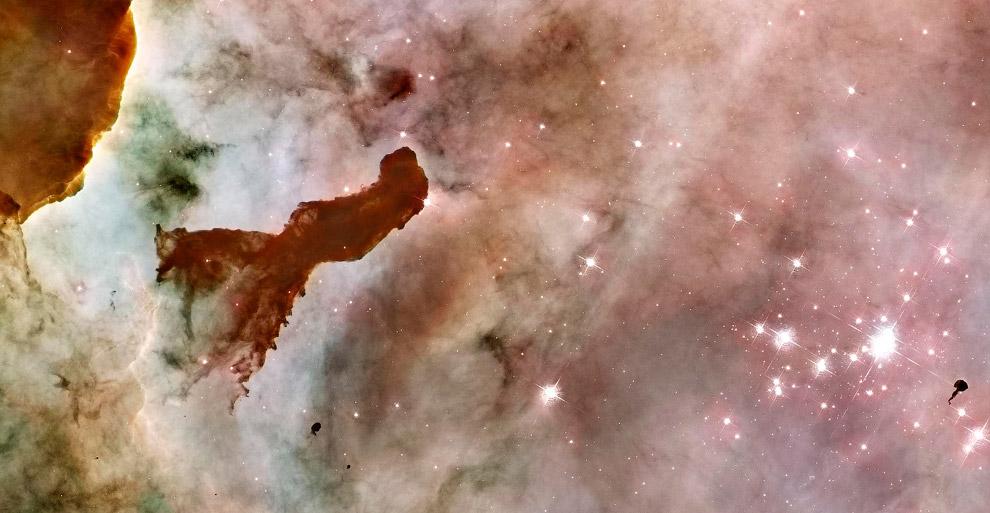 Эмиссионная туманность NGC 3372