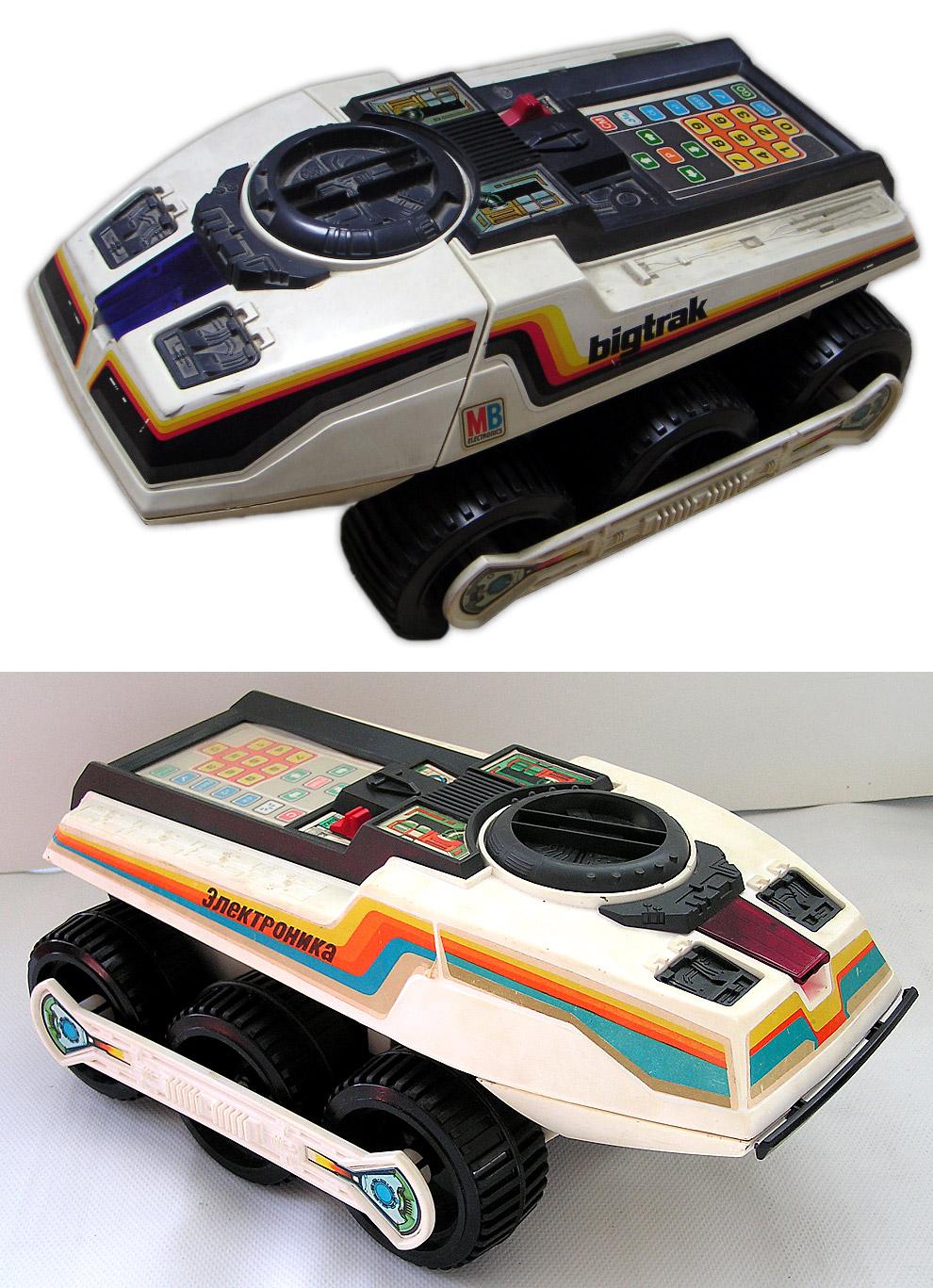 Электроника ИМ-11 «Луноход», 1985 год — Big Trak, 1979 год