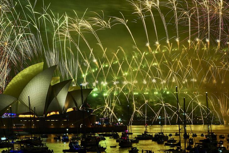 Как в мире встречали Новый год 2019