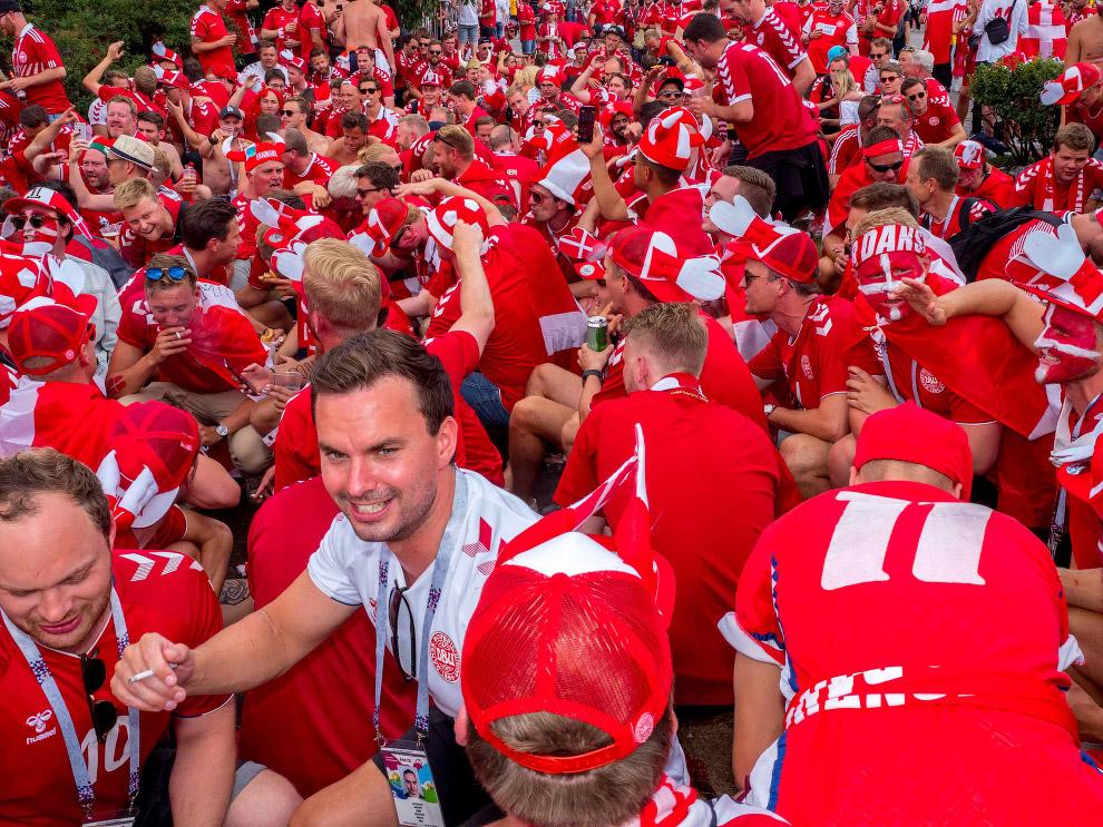 Фанаты из Дании