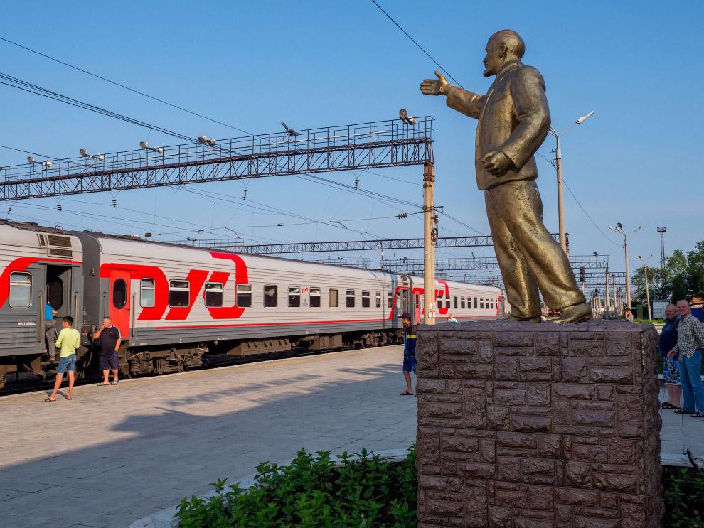 Платформа в Белогорске