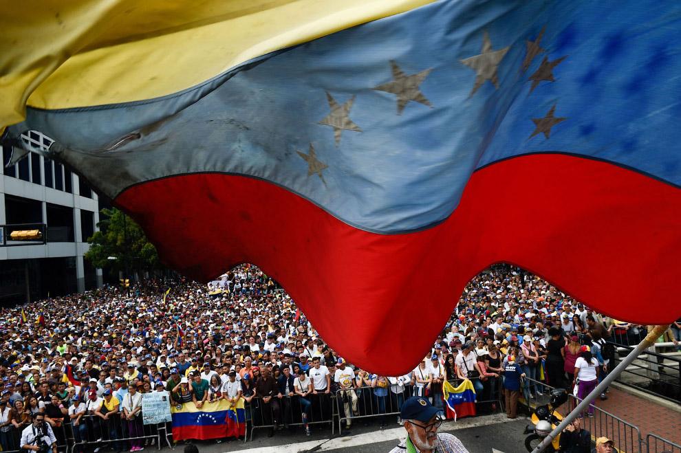 Как выглядят протесты в Венесуэле