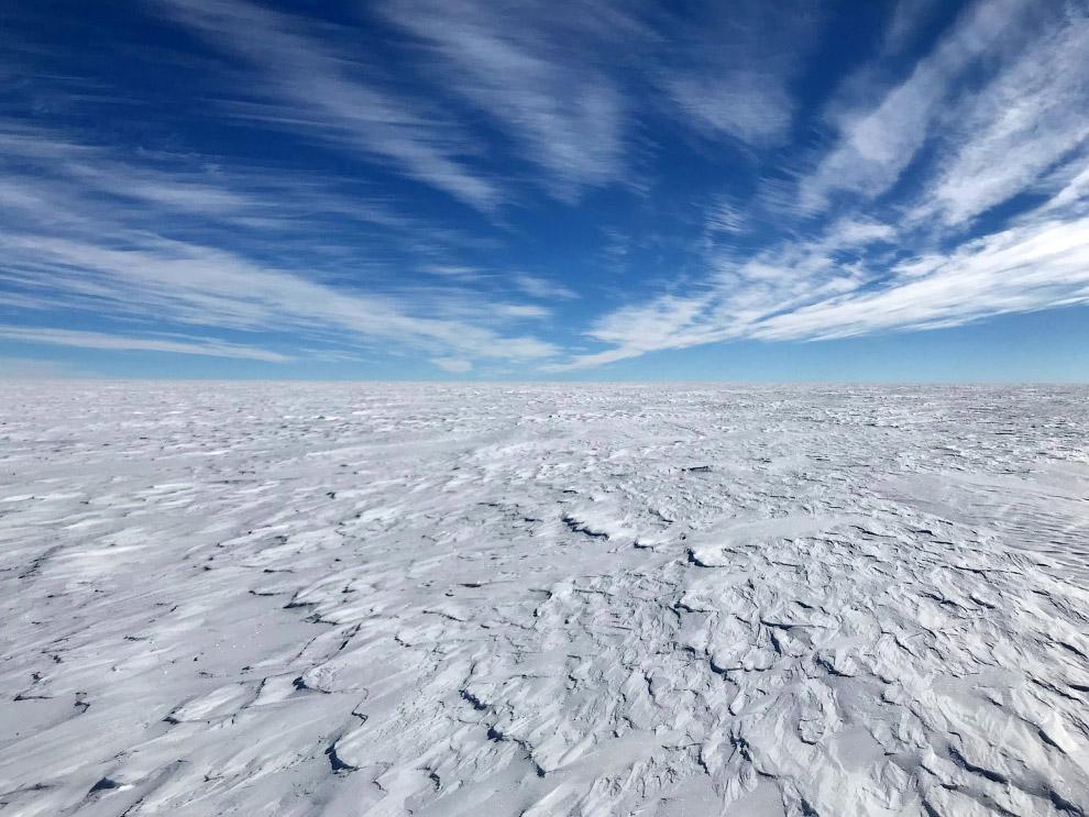 Типичный пейзаж Антарктиды