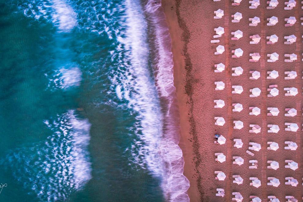 пляж Крета