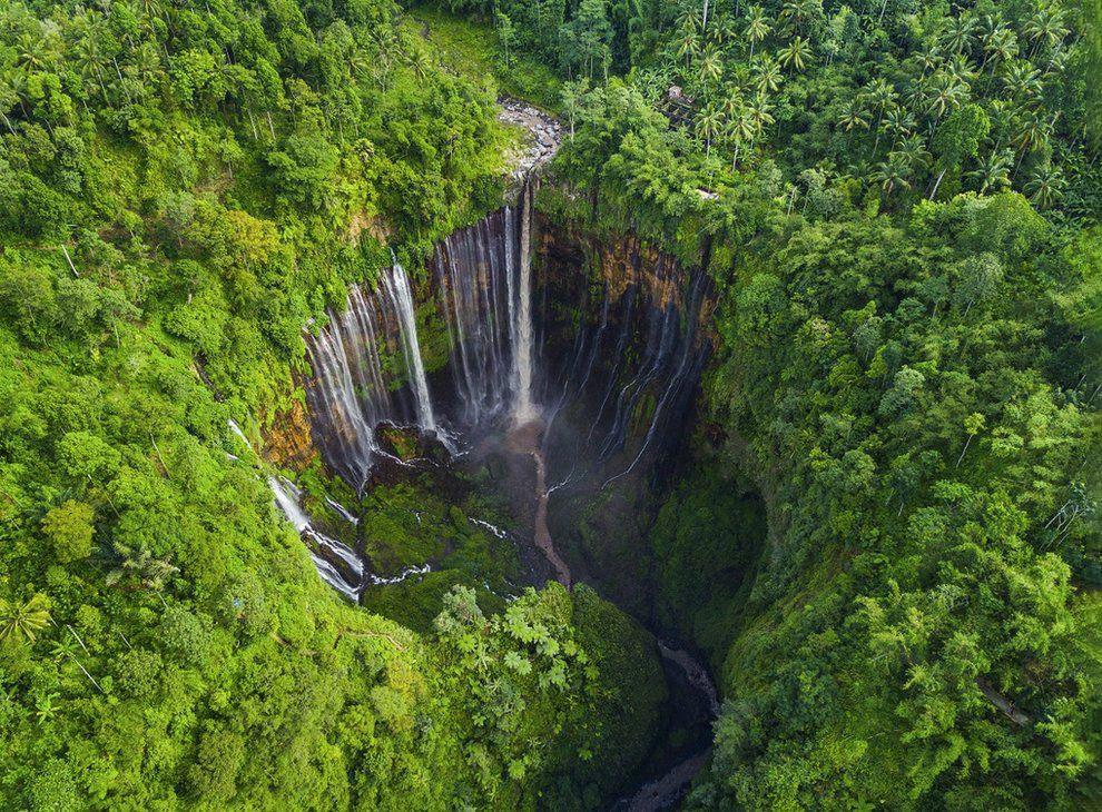 Водопад Тумпак Севу, Ява, Индонезия