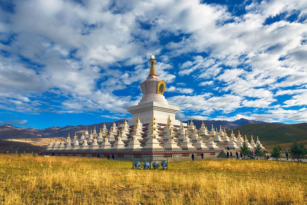 Буддійська пагода в Даочене