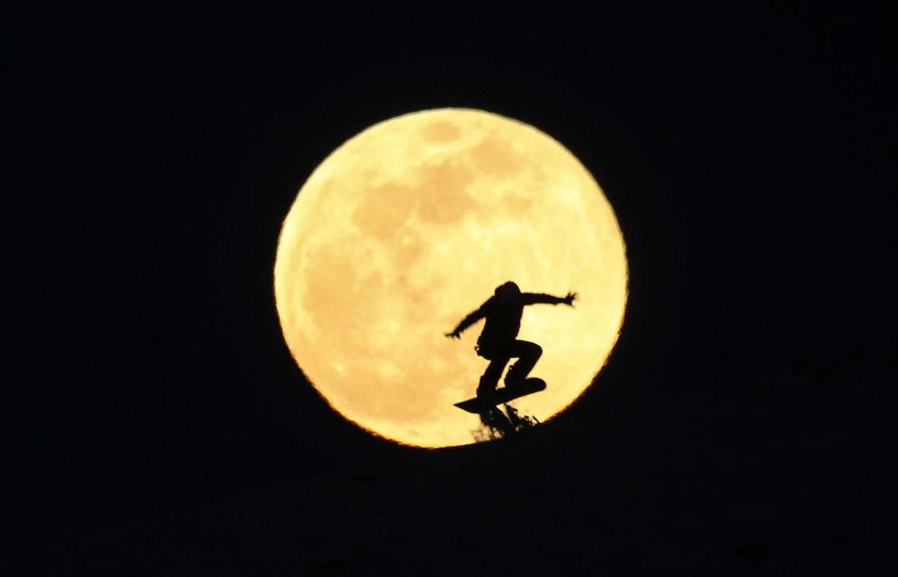 Супер-Снежная Луна в Турции