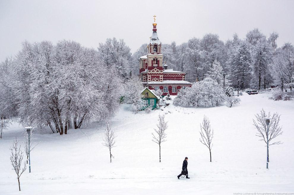 Храм великомученицы Параскевы Пятницы в Качалове.