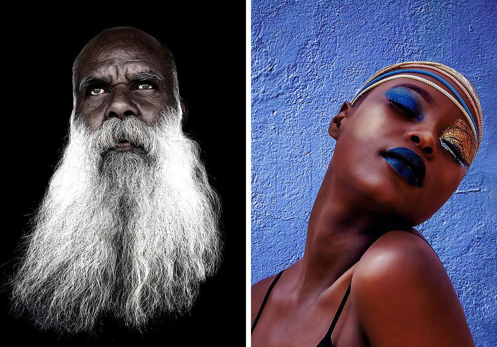 Портрети - переможці Національних премій Аргентини і Південної Африки