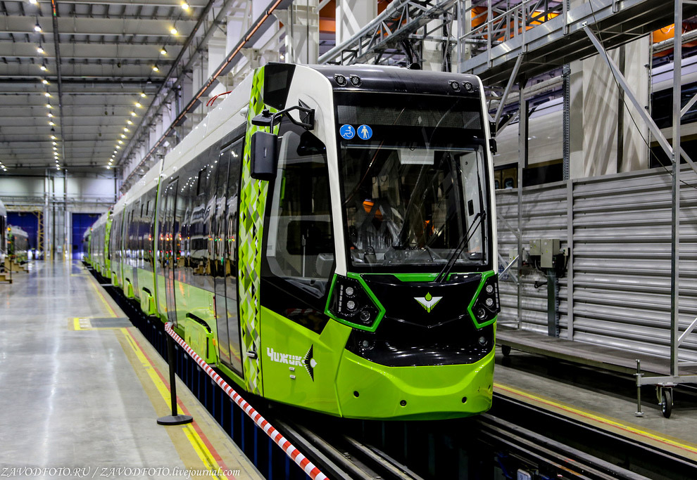 Трамвай «Метелица» В85600М или просто «Чижик».