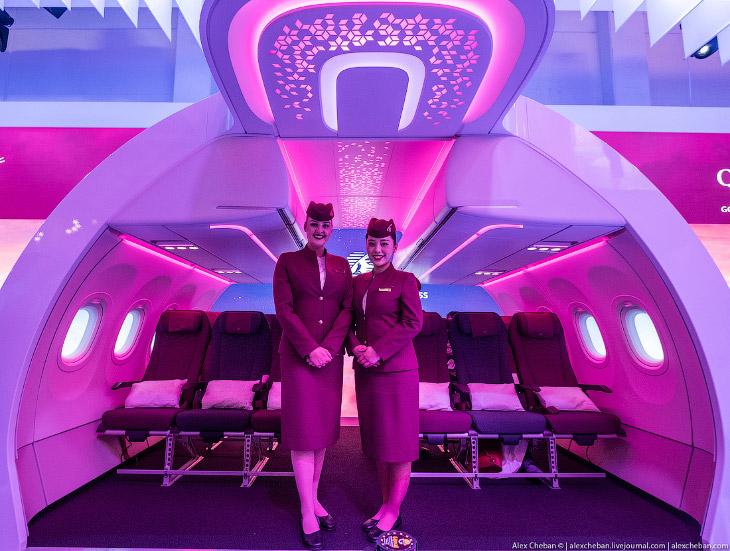 Эконом класс в самолете: революция от Qatar Airways